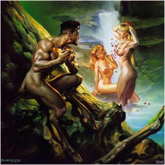 Tapety na pulpit, grafiki fantasy, rysunki erotic art.