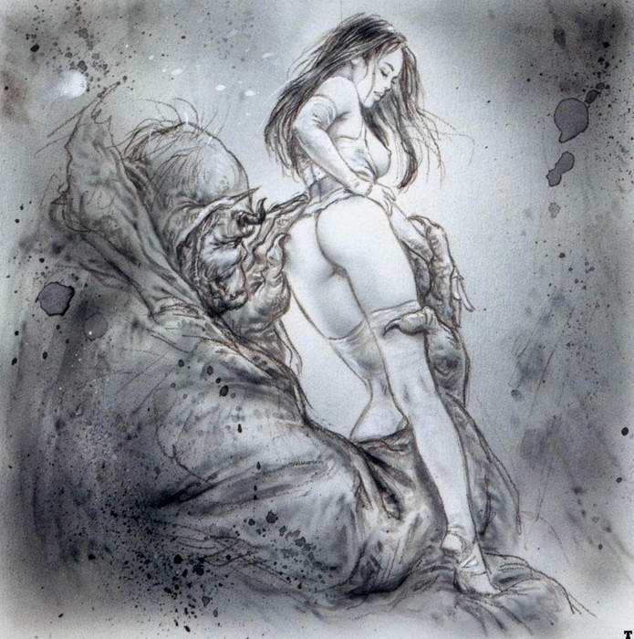 фэнтези рисунки эротические